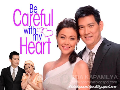 Jodi Sta. Maria and Richard 'Papa Chen' Yap's teleserye Be Careful with my Heart is ABS-CBN's first series in High Definition