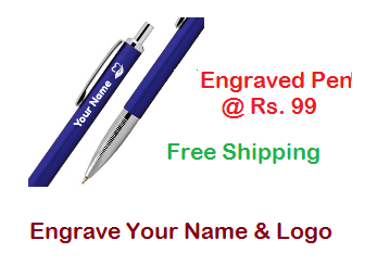 Printvenue: Buy Personalized Engraved Pen at Rs. 99