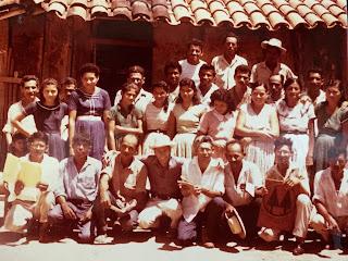 Peace Corps group photo, Honduras