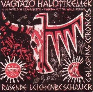 VAGTAZO HALOTTKEMEK-A VILAGOSZTON KIUGRASZTASA (JUMPING OUT THE WORLD - INSTINCT), LP, 1990, HUNGARY