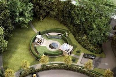 exterior casa subterránea moderna