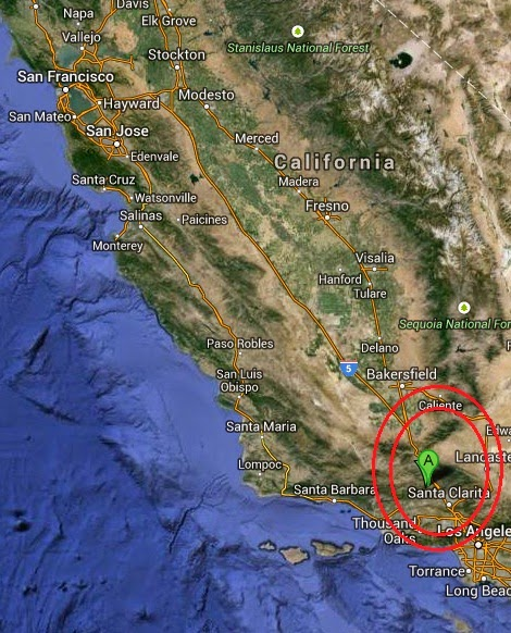 Magnitude 3.7 Earthquake of Piru, California 2014-09-08