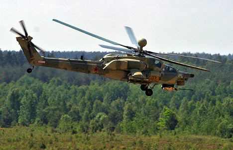 Mi-28N Night Hunter Helicopters