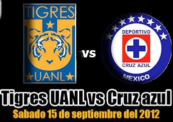 Futbol en Vivo - Tigres vs Cruz Azul EN VIVO
