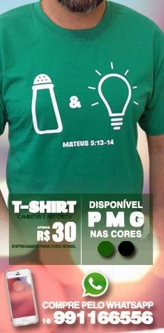 Camiseta Sal & Luz