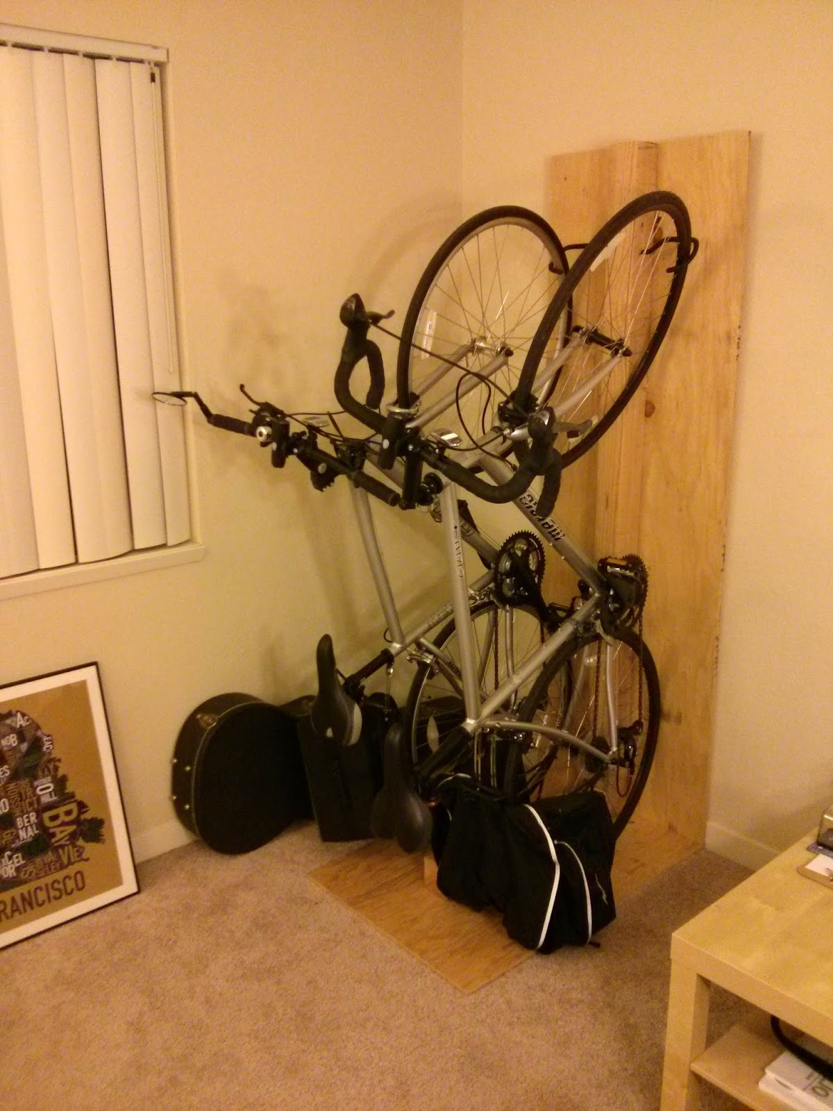home design image for vertical of hitch ideas bike mount apartment rack