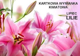Kartkowa wymianka kwiatowa - lilie