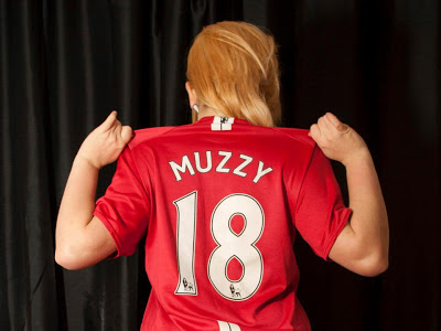 Manchester United Girl from the UK