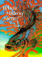 bookcover of Who's Hiding Here? by Yoshi