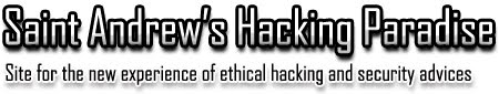 Saint Andrew's Hacking Paradise