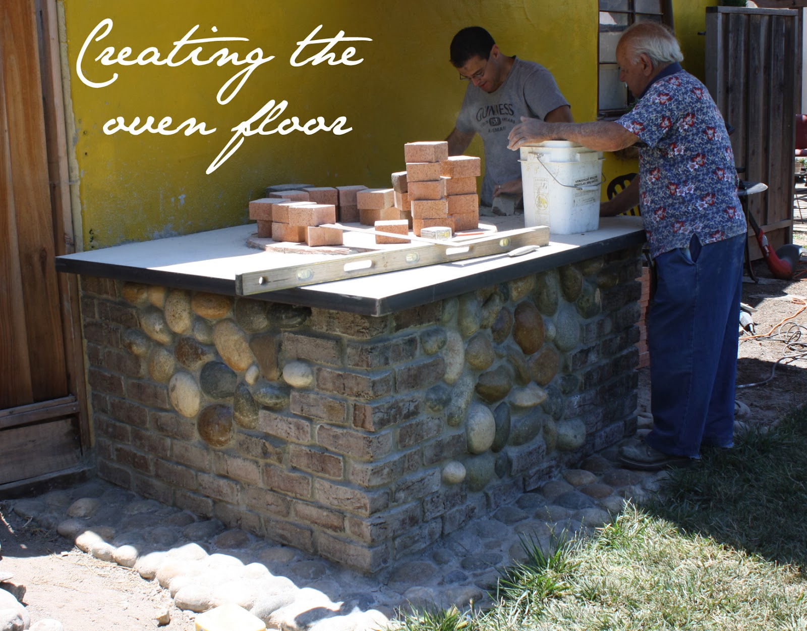 How to build your own forno - brick pizza oven The Tipsy Terrier blog