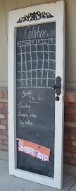 Chalkboard Door (SOLD)