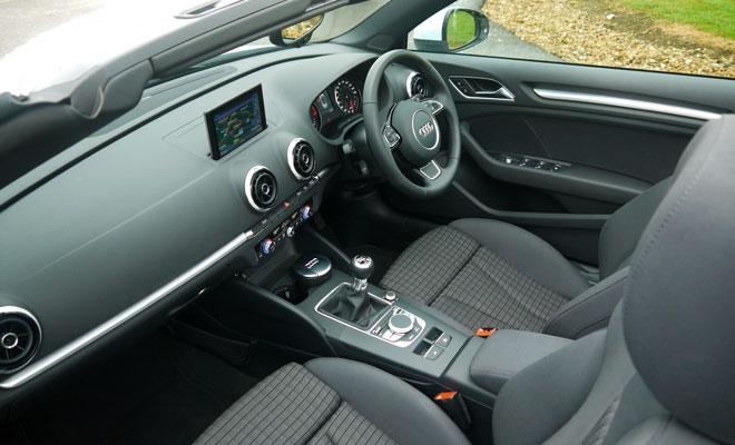 Audi A3 Cabriolet interior