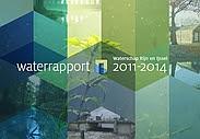 cover Waterrapport 2011-2014 Waterschap Rijn en IJssel