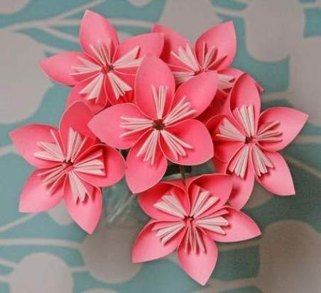 Origami flower perfectly pink 3d cool origami easy origami flower perfectly pink 3d mightylinksfo Choice Image