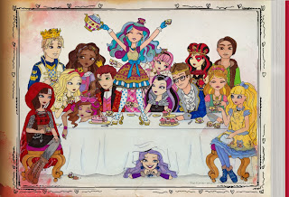 Ever After High, Dibujos, parte 2