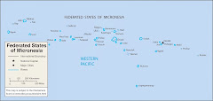 Map of Federated States of Micronesia