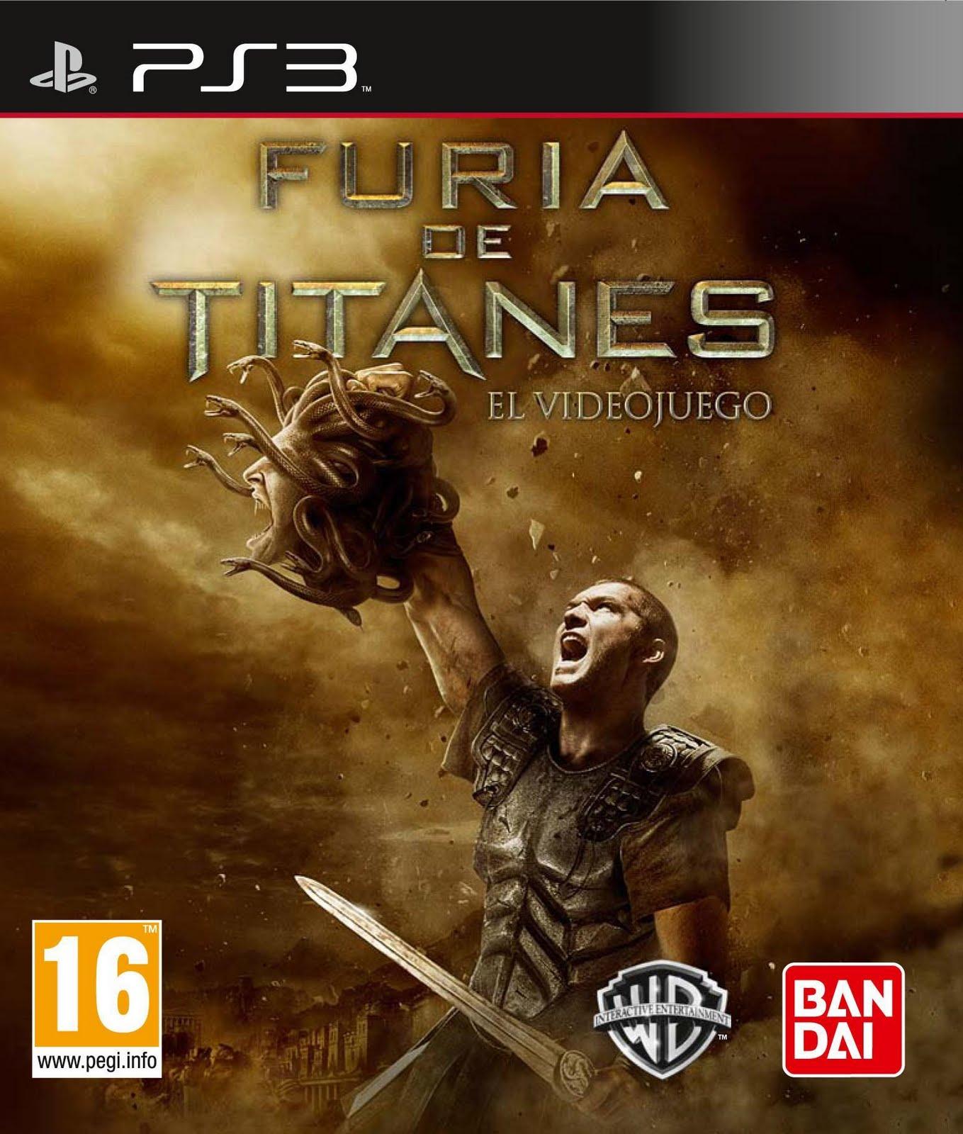 de Titanes [PS3] [Español] [3.55 Kmeaw]  Descargar Gratis Djuego.com