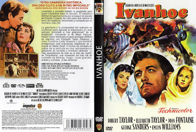 Ivanhoe | 1952 | Caratula Dvd, cover
