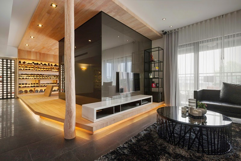 Stylish Open Plan Apartment In Taipei