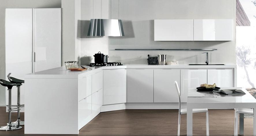 45 cocinas en blanco total - Cocinas con estilo
