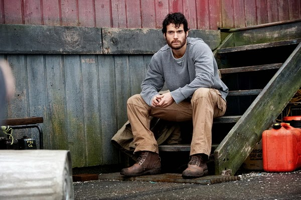 Henry Cavilll as working-class Superman.