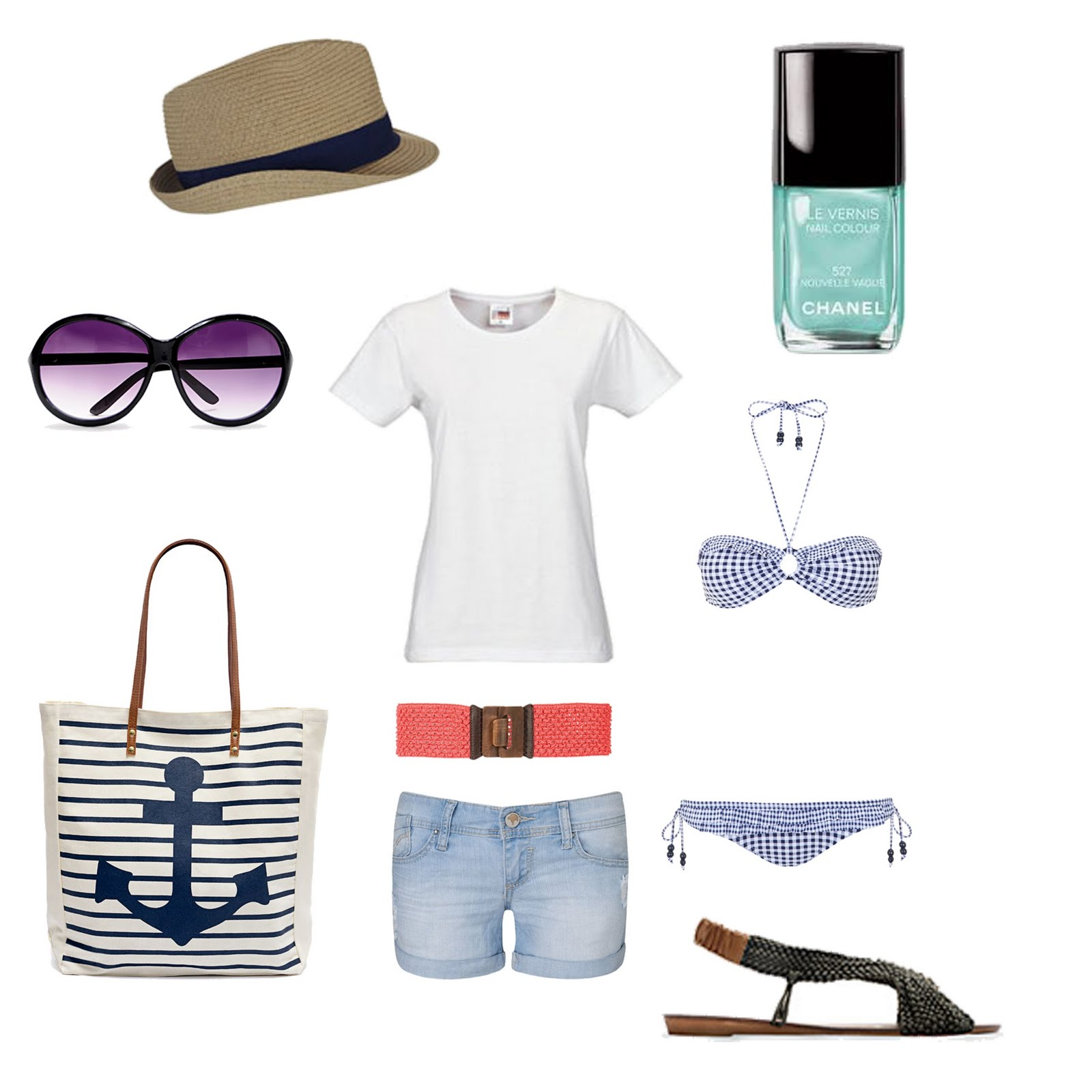 Outfit para la playa loscoloresdelavida - Como ir a la maquinista ...