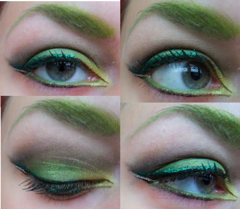 Seven Deadly Sins Envy Makeup