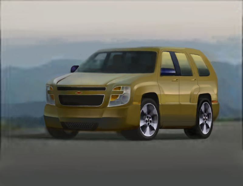 2014 Chevy Tahoe Concept