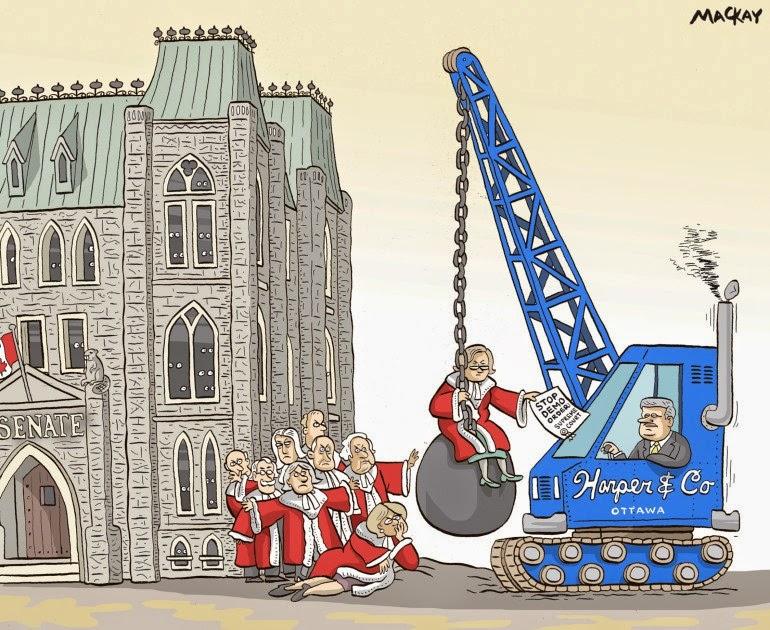 MacKay: Harper vs. Senate & Supreme Court.