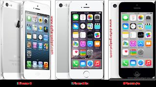 Harga Terbaru Iphone 5, 5c dan 5s