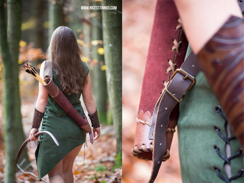 Bogenschützin Katniss Everdeen Kostüm