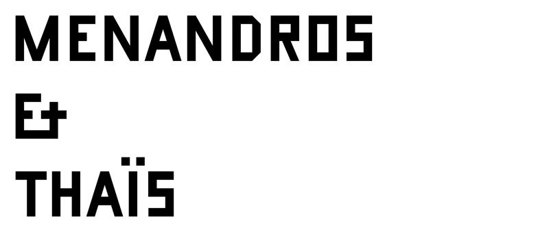 Menandros & Thaïs