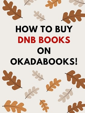 Buy any DNB Book you want on OkadaBooks