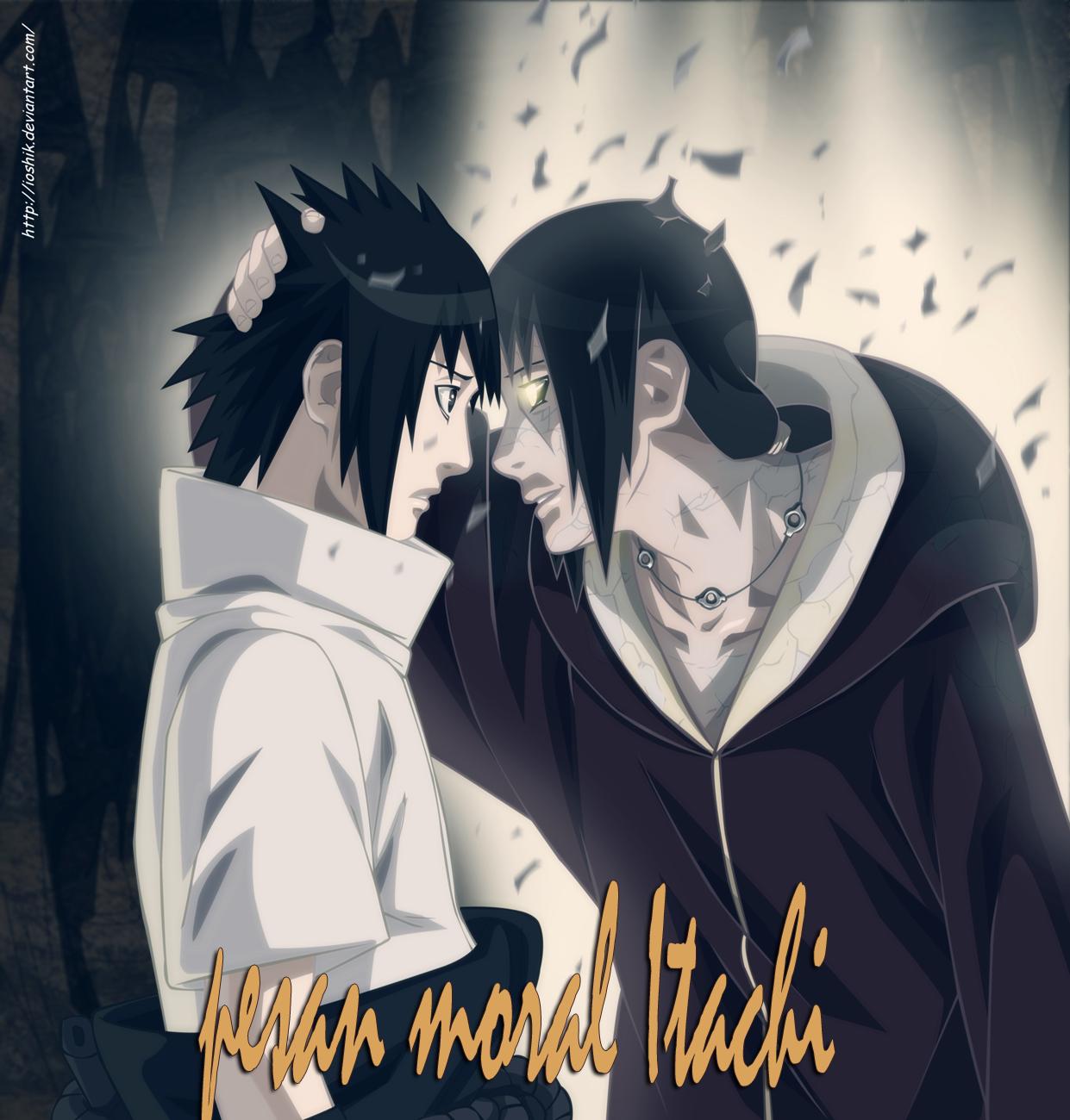 Kata Itachi Paling Bijak Pesan Moral Anime Kata Wawartos