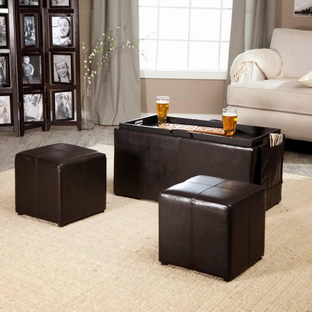 Footstool Coffee Table Tray: Perfect Home Decoration With Ottoman Coffee Table Tray