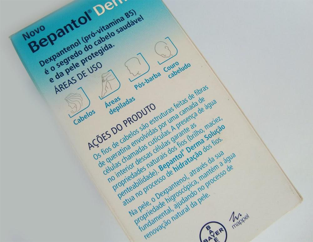 Hidratação Capilar com Bepantol Derma Solução