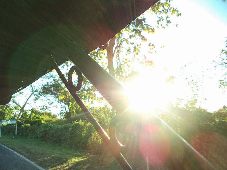 Artli and Stuff - Mt. Daraitan - Sun ray