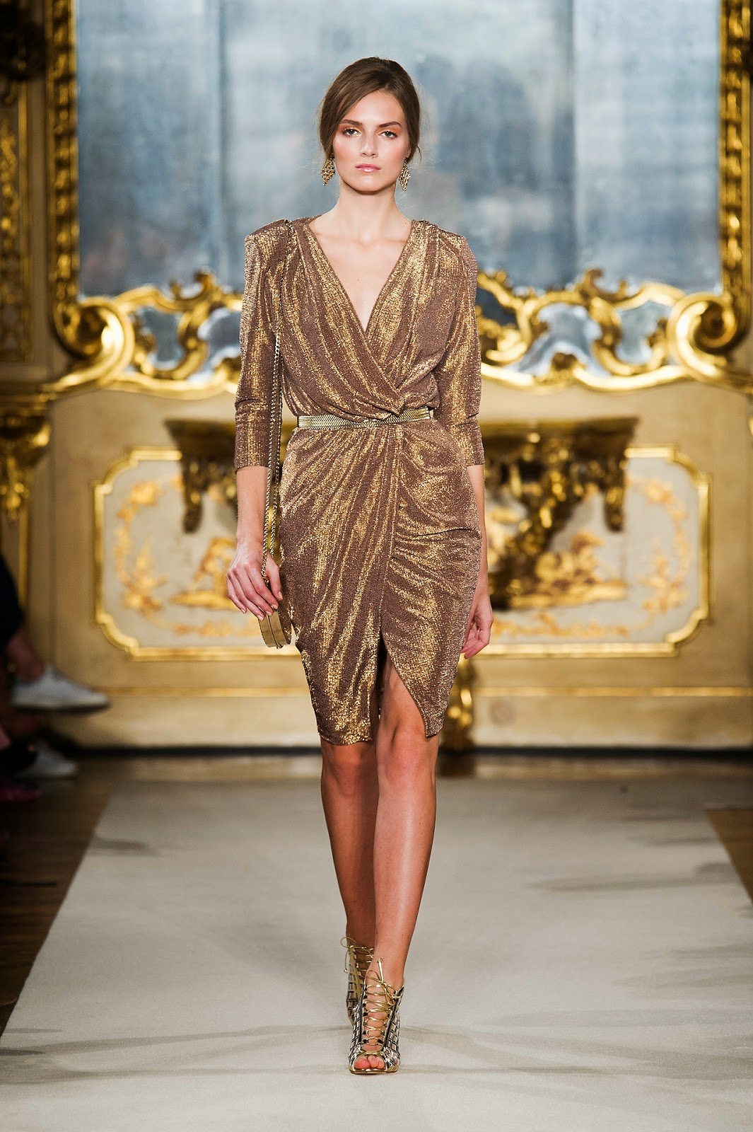 Elisabetta Franchi -  Colecção primavera-verão vestido