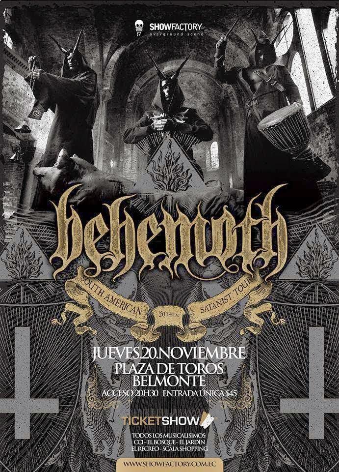 Behemoth 2014