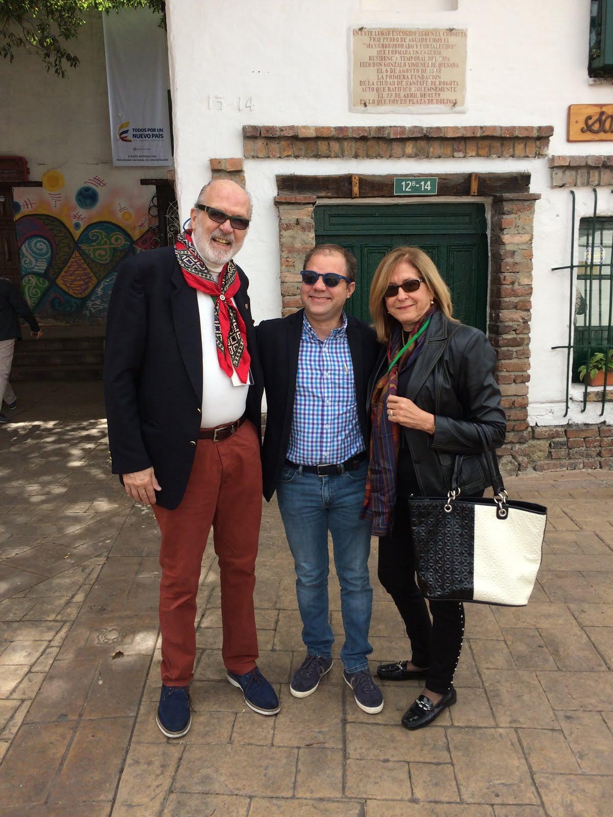 Con Joan Ferrer y mi esposa Gloria