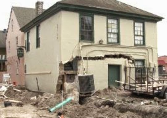 Historic St. Augustine building demolished after partially collapsing 3  1411703772000 building%2BSep%2B2014 St. Francis Inn St. Augustine Bed and Breakfast