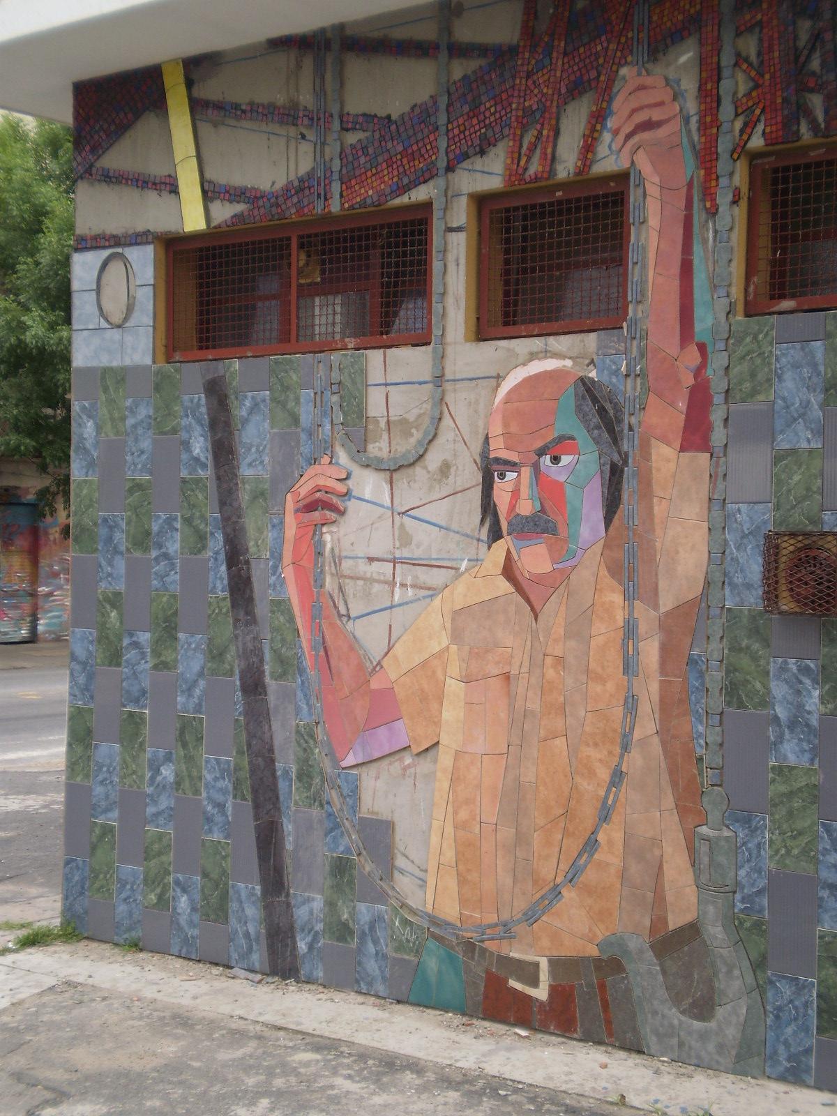 Contraluz mural muro de orientaci n oeste for Blog mural do oeste