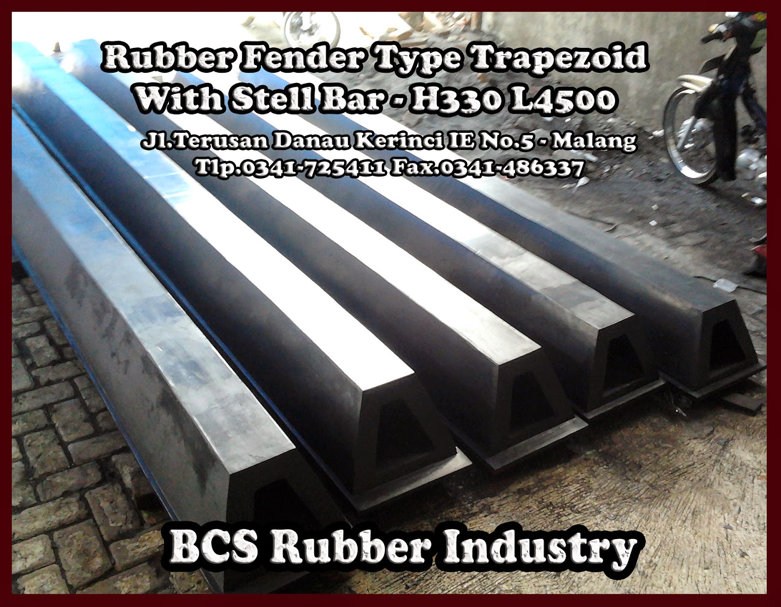 Rubber Fender Type Trapezoid ,Rubber Fender