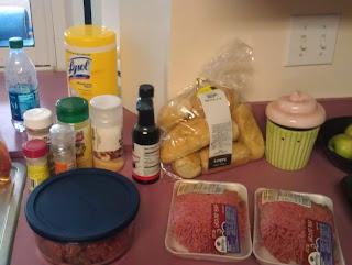 mini homemade hamburgers