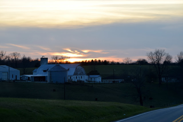 Kentucky sunset