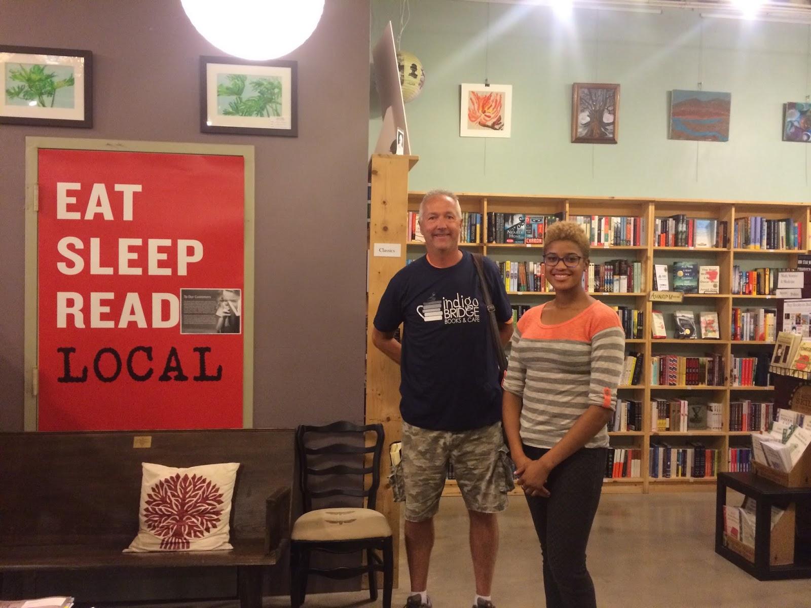 The Indie Bob Spot Indigo Bridge Books Amp Cafe Lincoln Ne