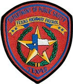 Texas Highway Patrol Division patch.