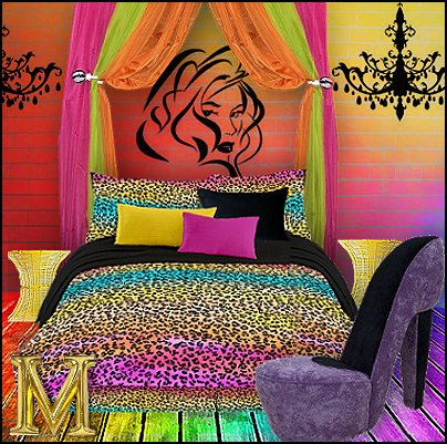 Bedroom Decor Ideas on Manor  Rainbow Theme Bedrooms   Rainbow Bedroom Decorating Ideas