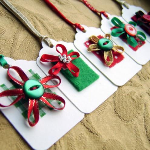 Hacer Etiquetas De Navidad Para Regalos Manualidades Faciles - Manualidades-faciles-de-navidad-para-regalar